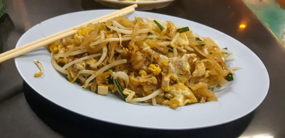 piatto di pad thai