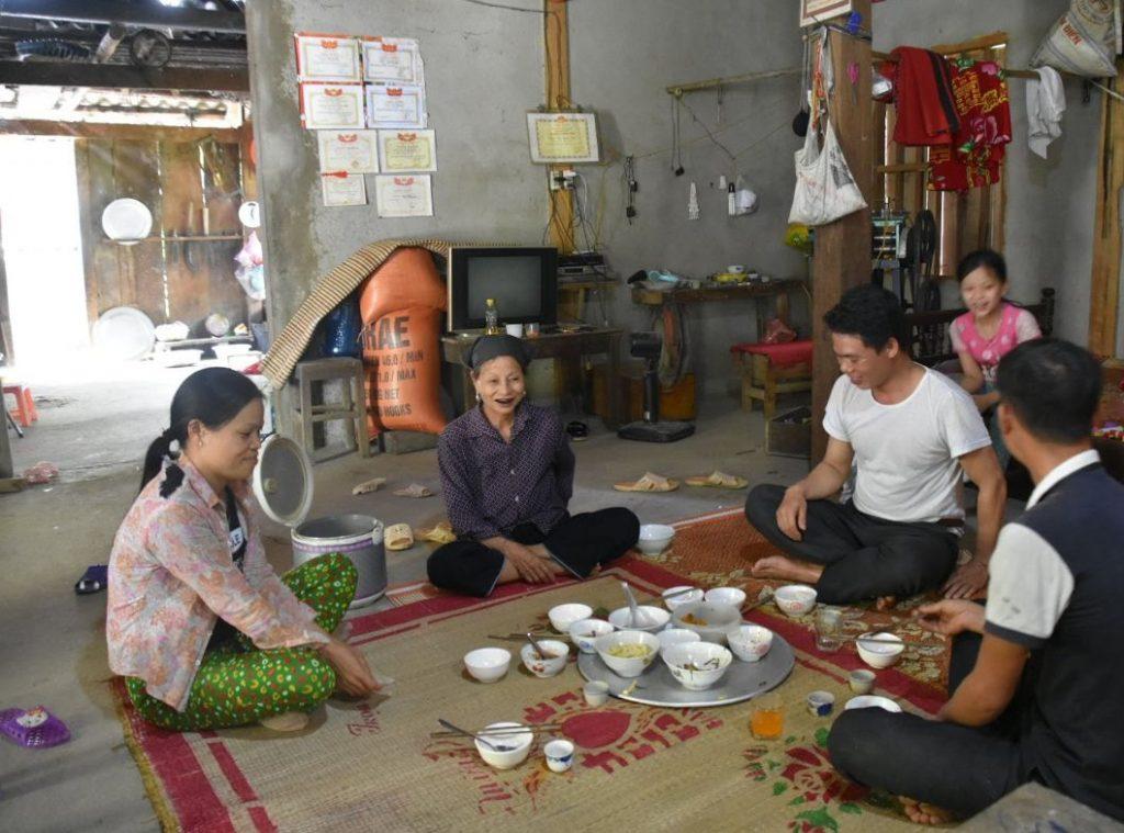 pranzo con i local