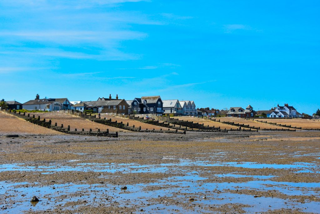Whitstable view from the beach