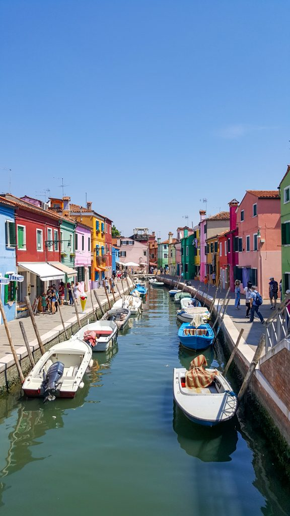 colored house of Burano