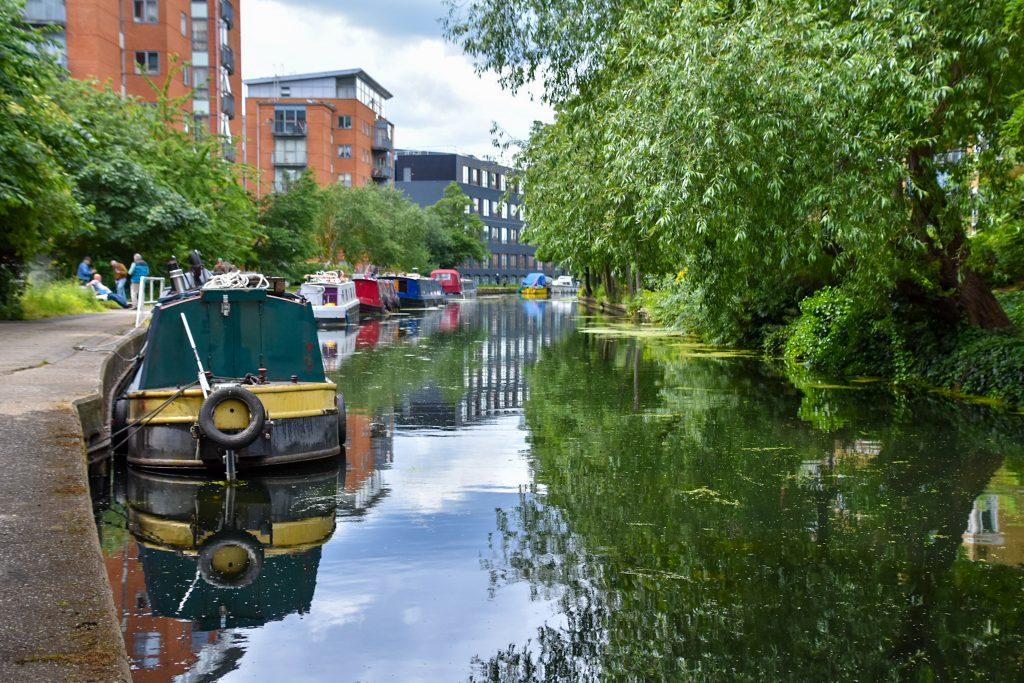 houseboat nel Regent's Canal
