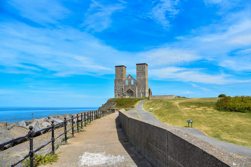 the two sisters of Reculver