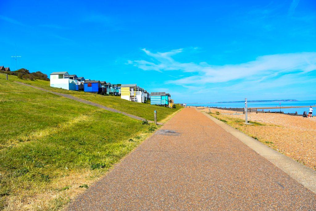towards Herne Bay
