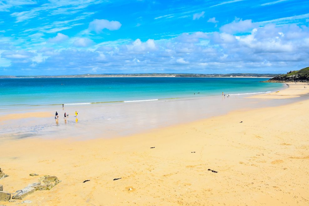 spiaggia a St Ives