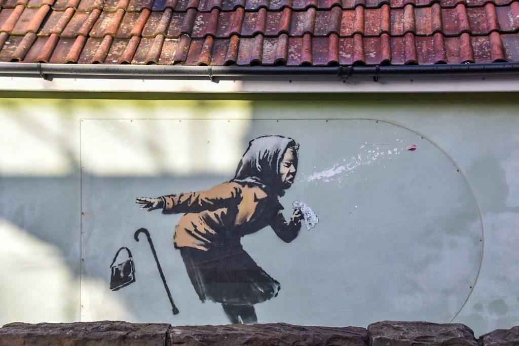 banksy murales aachoo