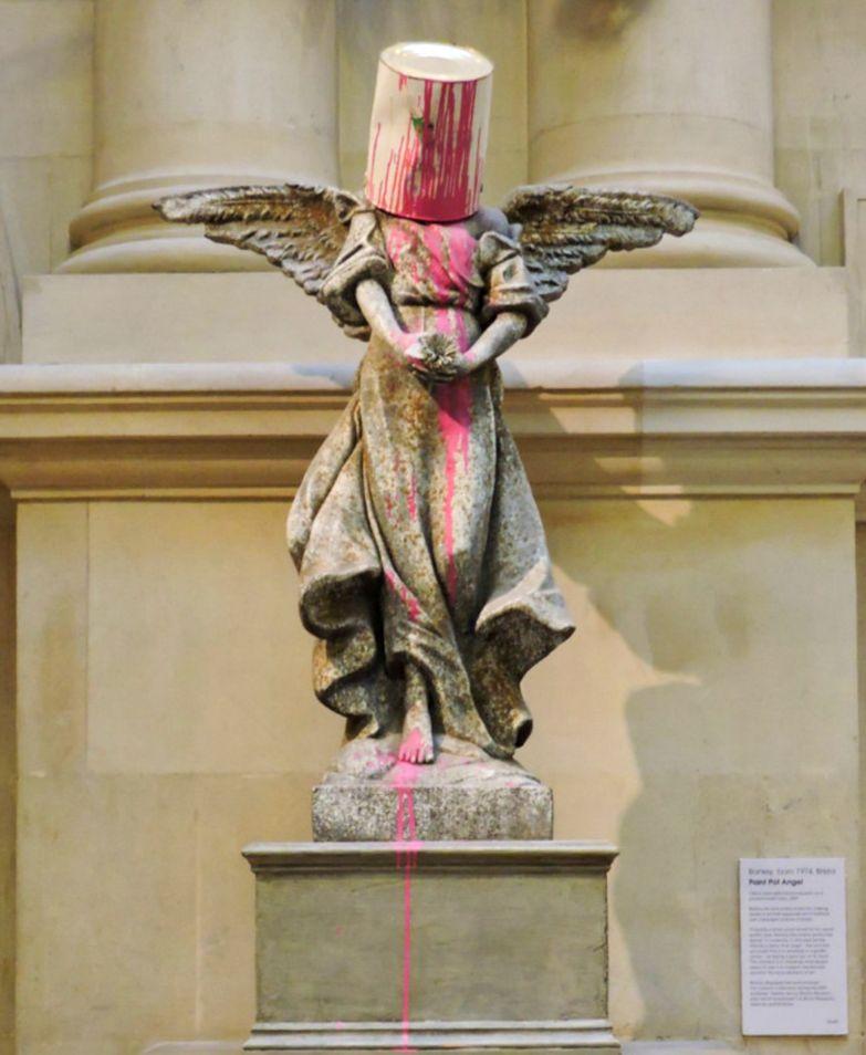 paint pot angel