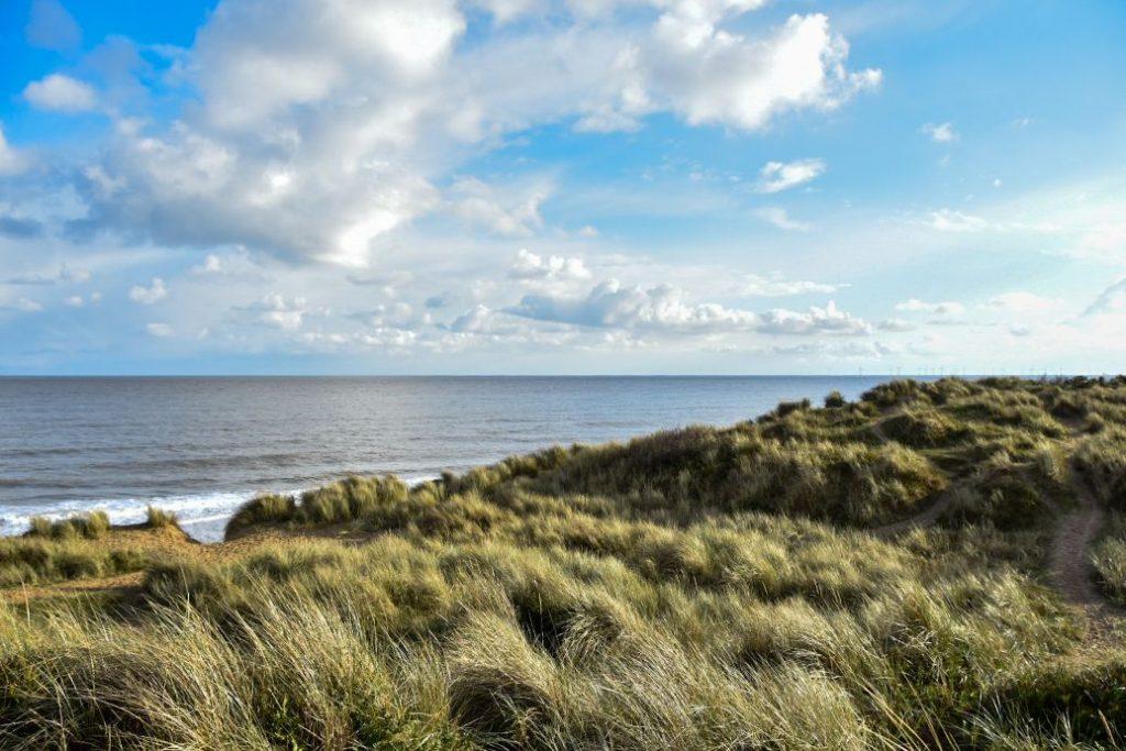 spiaggia selvaggia di Horsey Beach