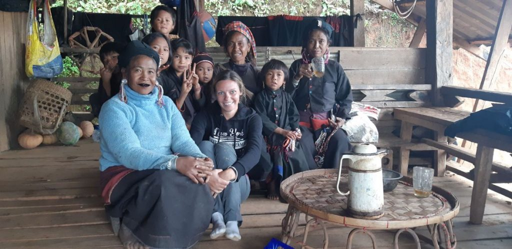 with Ann tribe in kentung