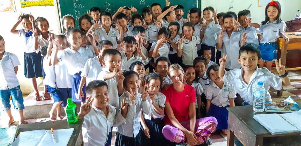 school in Cambogia