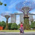 singapore in viaggio da sola