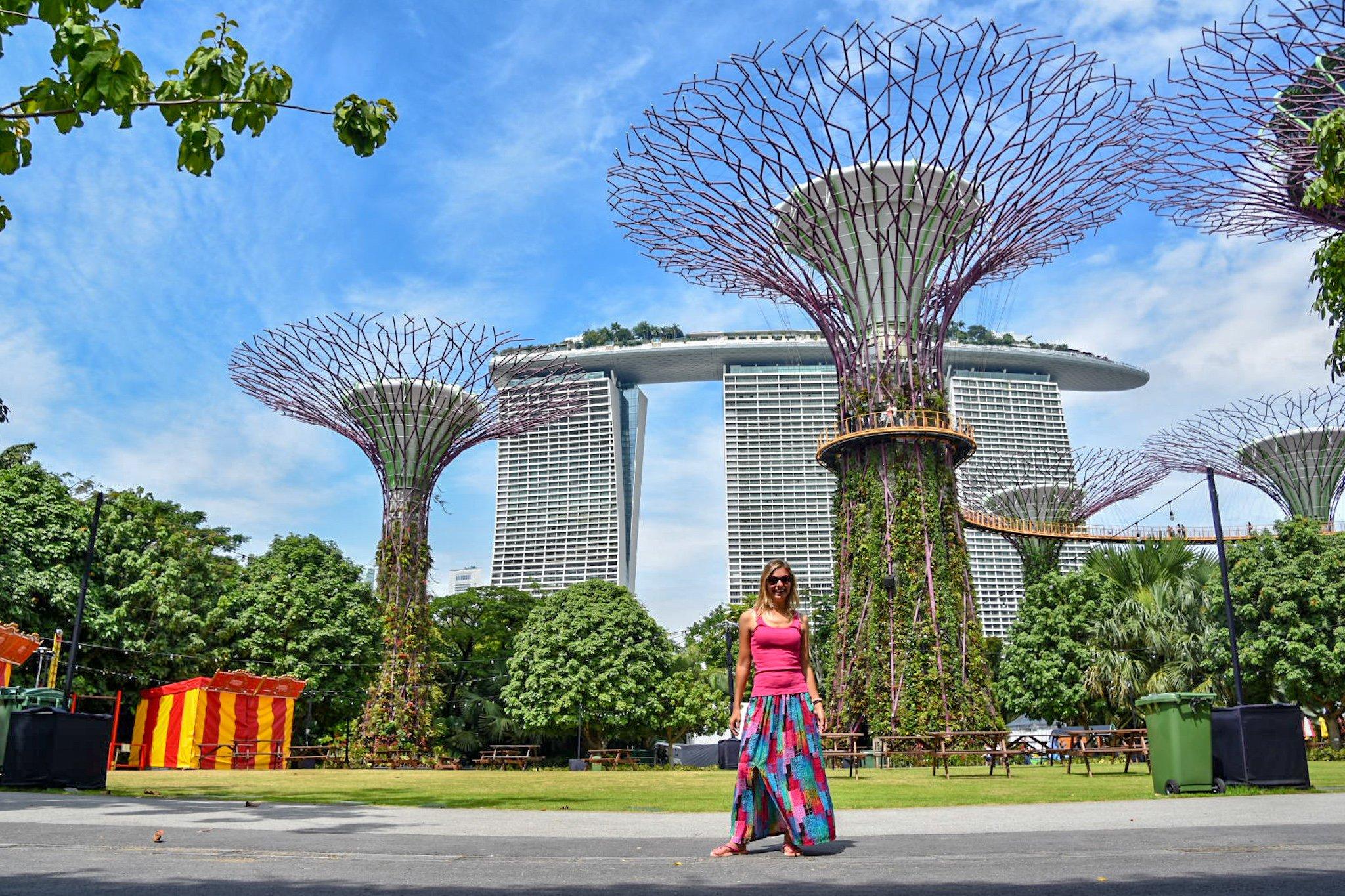 solo trip in Singapore