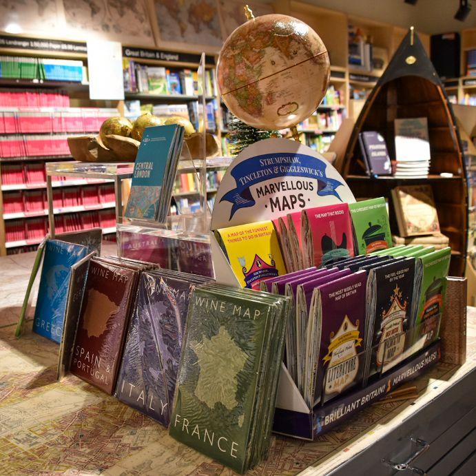 libreria stanford a Londra