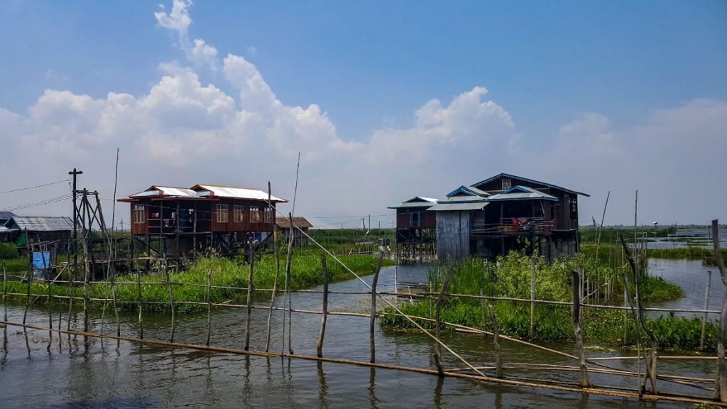 inle lake, palafitte