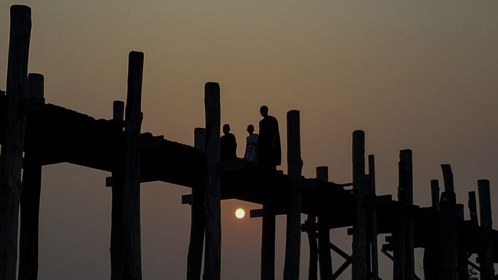 u bein bridge, mandalay
