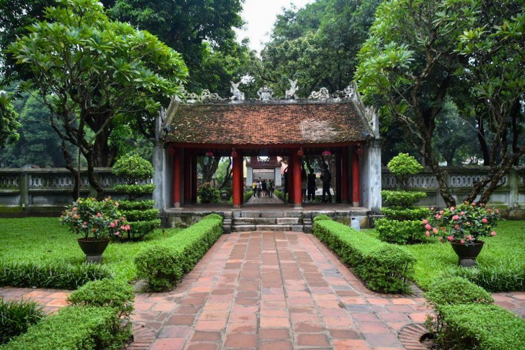 tempio letteratura di hanoi