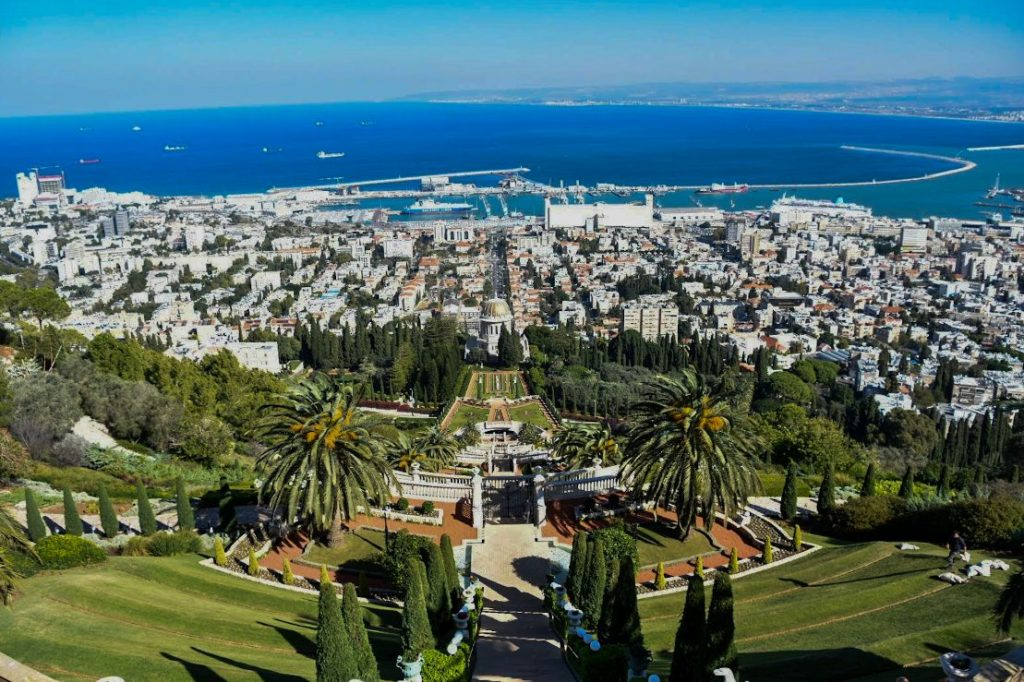 haifa, giardini