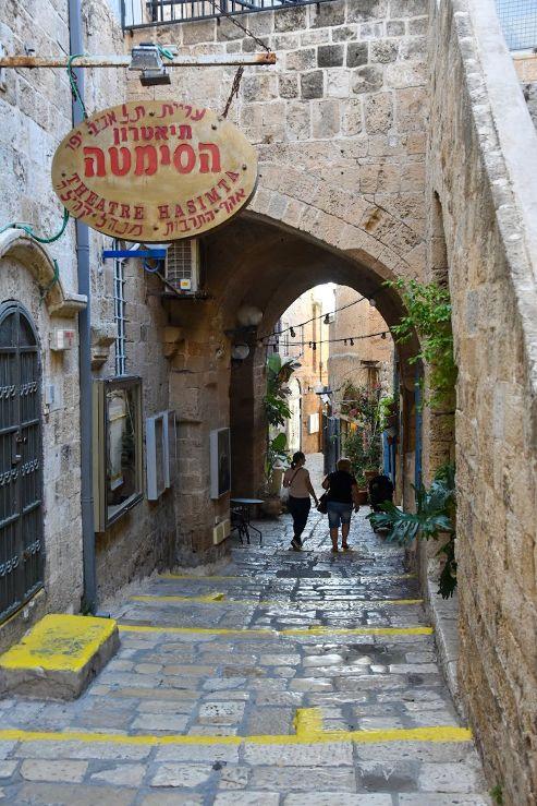 jaffa, centro storico
