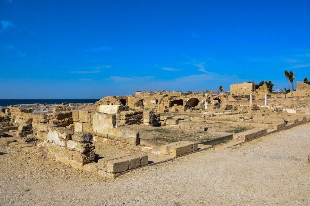 parco archeologico, caesarea