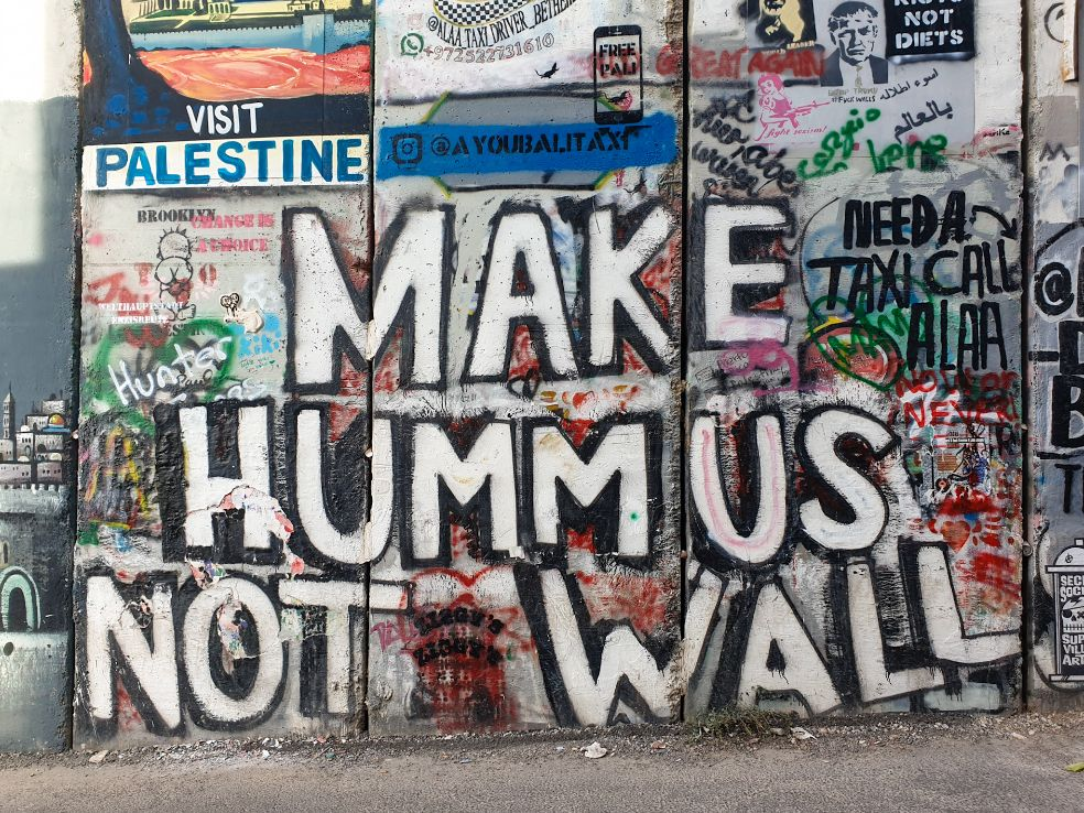 il muro tra Israele e Palestina