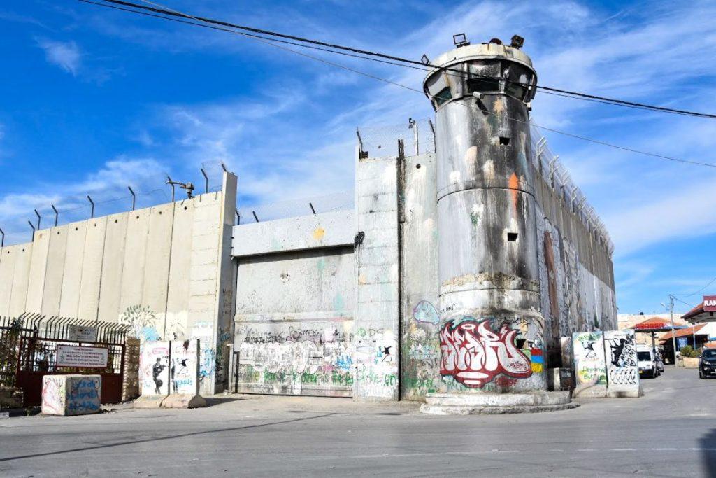 il muro tra Israele e Plalestina
