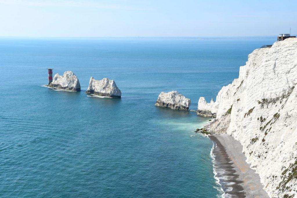 the needles, isola di wight
